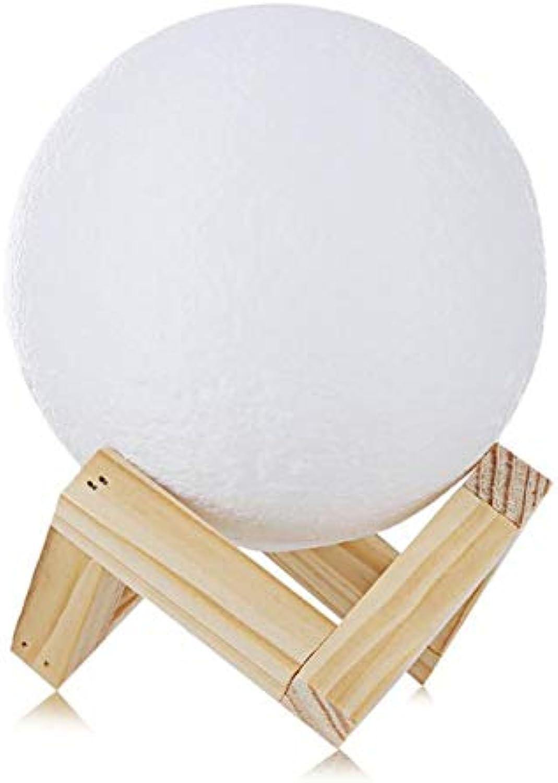 LNHYX Wiederaufladbare Benutzerdefinierte Mond Lampe 3D Usb 2 Farbwechsel Touch Schalter Schlafzimmer Bücherregal Nachtlicht Wohnkultur Kreative Geschenk