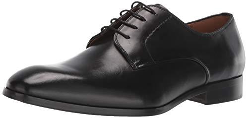 Steve Madden mens Parsens Oxford, Black Leather, 9.5 US