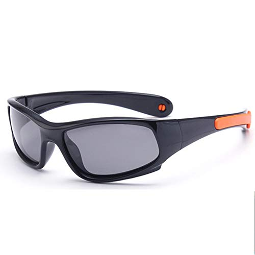 Gafas De Sol | NIÑO | 100% Protección UV 400 | Polarizadas | Irrompibles, De Goma Flexible Adecuado para Correr, Al Aire Libre, Andar En Bicicleta,5