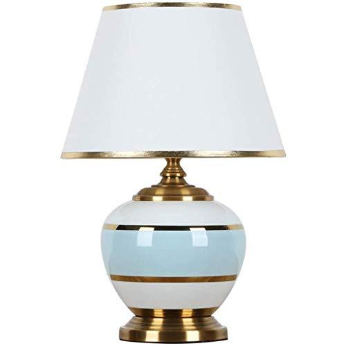 SPNEC Posmoderna Americana nórdica de la lámpara de cerámica de Lujo lámpara de Mesa de luz decoración del Dormitorio lámpara de cabecera Creativo Europeo Simple Typhoon Caliente Sala