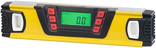 AGT Winkelmesser: Digitale Wasserwaage mit Winkel-Messfunktion und LCD-Display, 25 cm (Neigungsmesser)