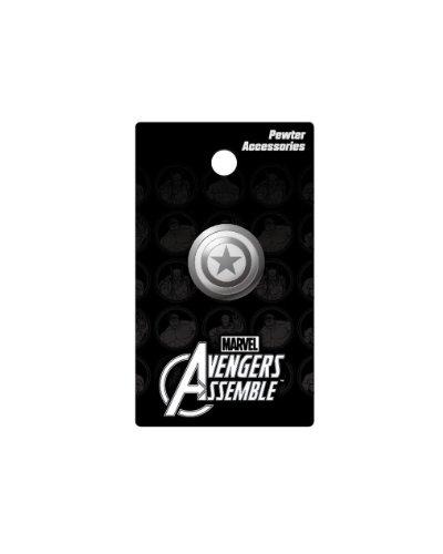Marvel Pin de Solapa con Escudo del Capitán América de