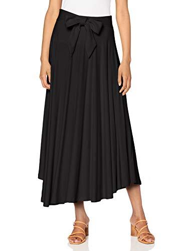 Esprit 070EE1D307 Falda, 001/Black, M para Mujer