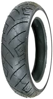 150/80B-16 (77H) Shinko 777 H.D. Rear Motorcycle Tire White Wall for Harley-Davidson Sportster 883 XLH883 2004-2008