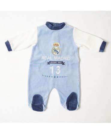 Pelele Bebe Real Madrid 102 - Tallas bebé - 6 Meses