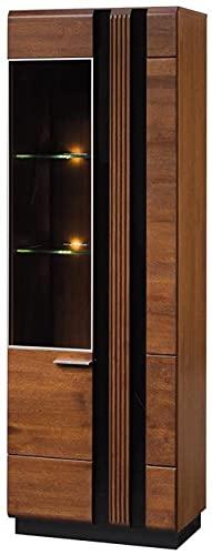 Jdumoba TV-Ständer aus Massivholz mit 3 Schubladen160 x 51 x 42 cmDunkelbraun/SchwarzeEiche/Furnier