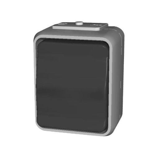Elso 441609 Universalschalter 10A AquaTop licht/basaltgrau Schalter