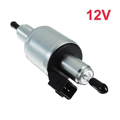 Preisvergleich Produktbild xiangpian183 Elektrische Kraftstoffpumpe 12 / 24V - Universelle elektrische Heizöl-Kraftstoffpumpe,  2000W / 5000W Luft-Standheizung für Webasto Ws