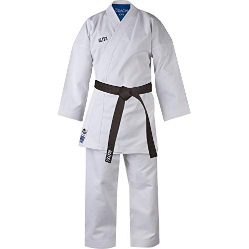 Blitz Odachi WKF Approved Karate-Anzug, weiß, 5/180 cm