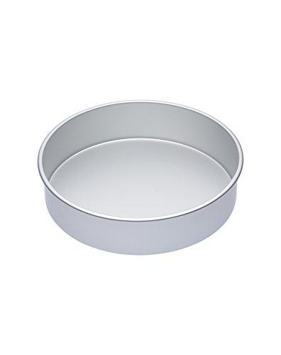 Kitchen Craft Tiefe Runde Kuchenform, Harteloxal, Silber, 30 x 30 x 7.5 cm