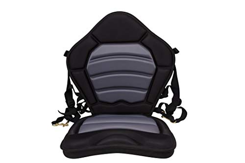 BKC PS277 Pro Deluxe Memory Foam Kayak Chair for Comfort and...