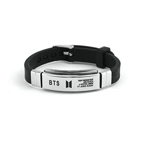 Kpop BTS Army Bangtan Boys Bracelet Bangle Wristband Gift Cute Men Women Kids