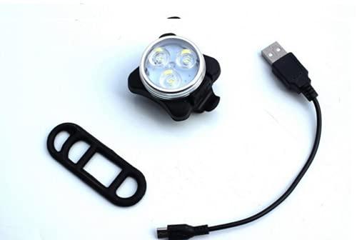 通用 LED-Fahrradbeleuchtung, wasserdicht, LED-Rücklicht für Rennrad, Rennradbeleuchtung, für die Beleuchtung von Warnlicht (weiß)
