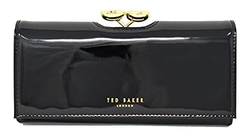 Ted Baker Women's EMMEYY Travel Accessory-Bi-Fold Wallet, Black, One Siz