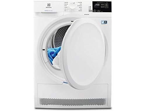 Sèche linge Condensation Electrolux EW8H4821RA - Pompe à chaleur - Chargement Frontal - Pompe à chaleur - Départ différé - Indicateur temps restant - 66 décibels