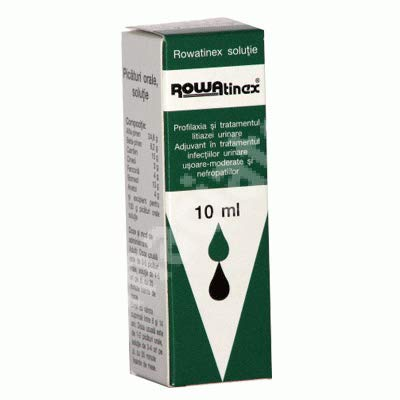Rowatinex Drops 10ml, Treatment