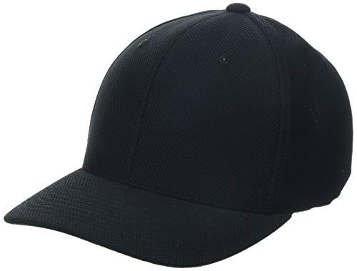 Flexfit Gorra Unisex 110 Hybrid Basecap Sport & Streetwear Cap, Unisex Adulto, 110VH, Negro, Talla única