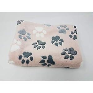 Kuscheldecke für Hunde, Hundesofadecke, Schondecke rosa Wellnessfleece