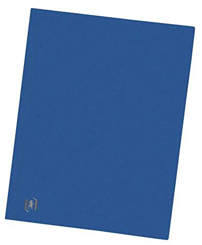 Oxford Aktendeckel A4, aus Karton, blau, 10 Stück