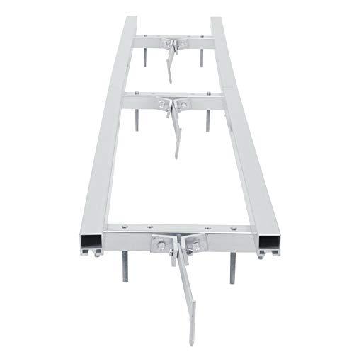 Material de aleación de aluminio de calidad aeronáutica Sistema de guía de molino de corte único El molino de motosierra mejora la eficiencia de trabajo conveniencia(1.5 meters)