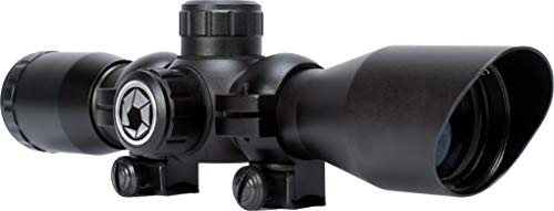 BARSKA AC13490 Plinker-22 Rifle Scope 4x32 30/30 Reticle with Rings
