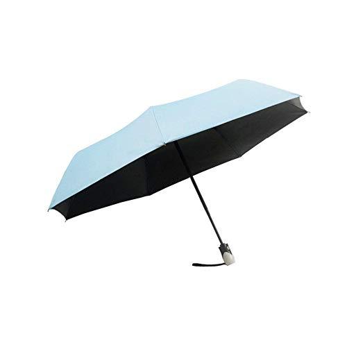 DKee Parbrillas Paraguas Solar Paraguas Plegable Automático Luz A Prueba De Viento Refuerzo Paraguas Indestructible Alrededor De 317 Gramos Dos Personas