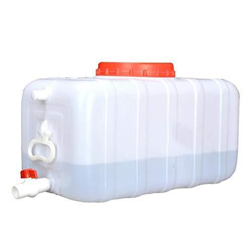 Almacenamiento de agua Recipiente de Agua Grueso Cuadrado del Tanque Gran Capacidad para Acampar, al Aire Libre Capacidad 25L, 30L, 45L, 70L, 75L ZLINFE (Size : 70L)