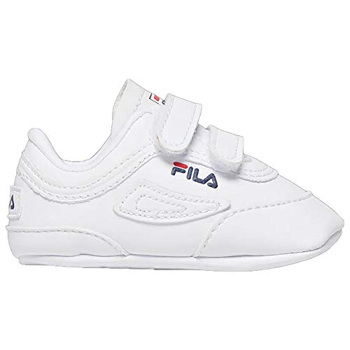 Fila Infant Disruptor II Crib Shoes (4) White/Navy/Red