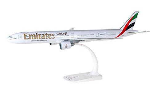 herpa 610544 Emirates Boeing 777-300ER zum Basteln und Sammeln oder als Geschenk, Mehrfarbig
