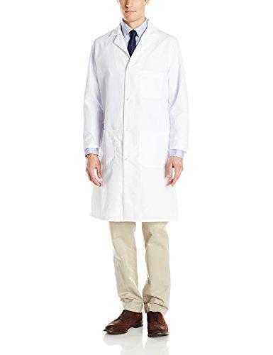 Red Kap Men's Lab Coat, White, Medium