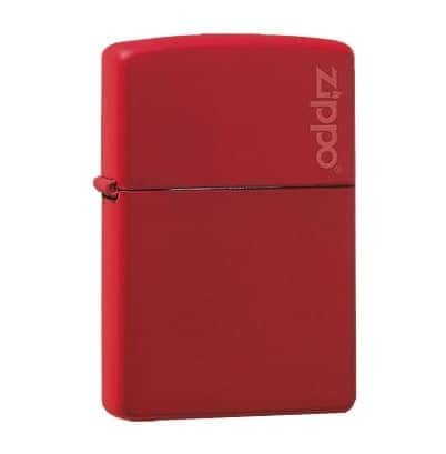 Hauser - Zippo - Mechero, Color Rojo
