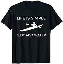 Sea Kayak T SHIRT for ocean, flat water, lake, touring kayak
