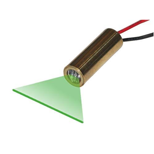Quarton レーザーモジュール VLM-520-28 LPT (経済的な緑ラインレーザーラインジェネレータ)