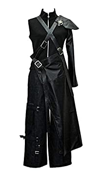 Cosonsen FF7 Final Fantasy VII Cloud Strife Cosplay Costume Custom Made Any Size  Men XXL