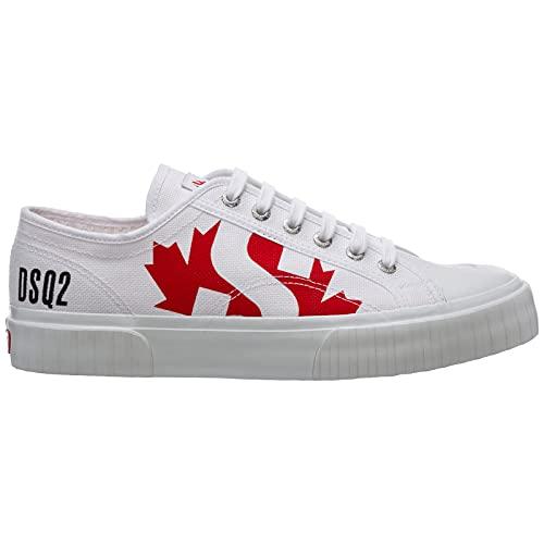 Dsquared2 Zapatillas De Lona para Hombre Dsquared2 & Superga Modelo SNM017100300001. (Blanco, Numeric_40)
