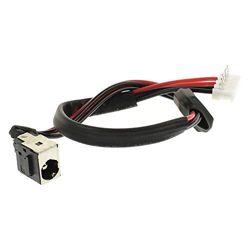 Conector Alimentación CC Cable Toma de Carga Compatible con Toshiba Satellite A500 A500-11U A500-17X A500-1GH A500-1GL A500D L450 L450-136 L450-17K L450D L450D-12X L450D-13X L455 L455D