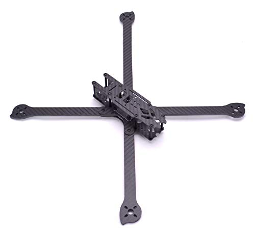 YoungRC XL8 360mm FPV Racing Drone Frame Carbon Fiber 8 inch FPV Freestyle Frame Kit with 4mm Arms