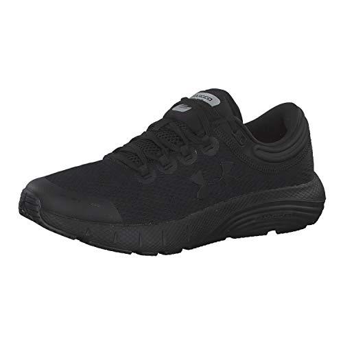 Under Armour Women's Charged Bandit 5 Running Shoe, Black (002)/Black, 10.5