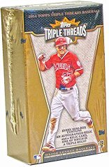 2014 Topps Triple Threads Baseball box (1 pk mini-box)