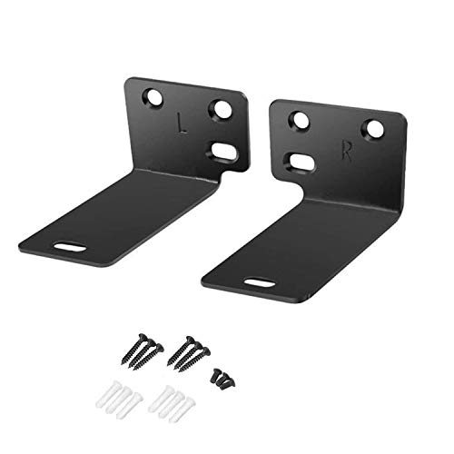 Black Mounting Wall Bracket Compatiblewith Bose WB-300 Sound Touch 300 Soundbar Soundbar 500 Soundbar 700 Speaker