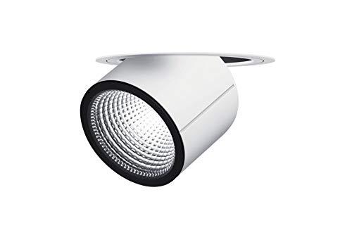 Zumtobel ONICO .LED Einbaustrahler verstellbar LED Strahler LED 1500-930 Farbwiedergabe Ra > 90 Warmweiß Lampe Einheit dreht sich um 357° und schwenkbar in/out (-20°/+45°) Deckenausschnitt: Ø150mm