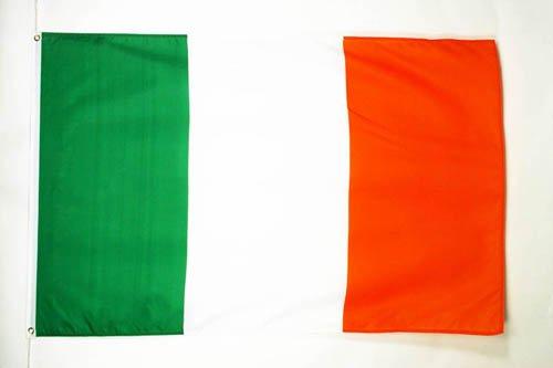 AZ FLAG Flagge Irland 150x90cm - IRISCHE Fahne 90 x 150 cm feiner Polyester - flaggen