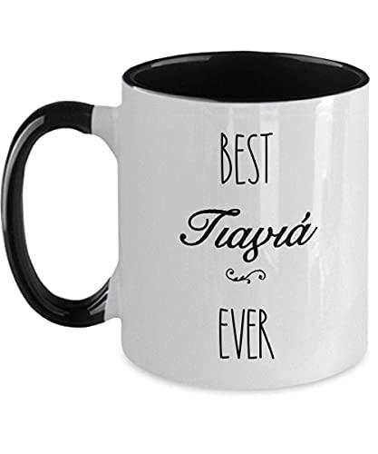 Yiayia Ever in grekisk mormor kaffemugg Yiayia s grekiska bokstäver mugg jul för grekiska namnsdag grekiska 325 ml