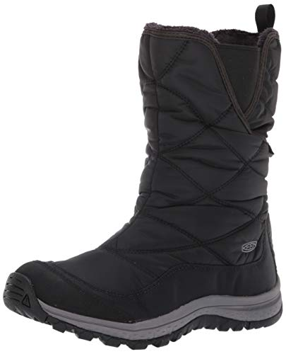 KEEN Women's Terradora Pull ON Boot WP Mid Calf, Black/Raven, 9 M US