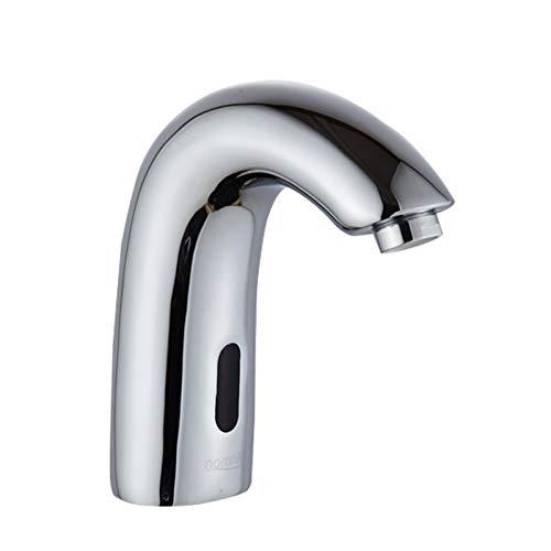 Automatische Infrarot Sensor Wasserhahn, Automatischer Waschtischarmatur mit Infrarot Sensor für Waschbecken Küche Badezimmer