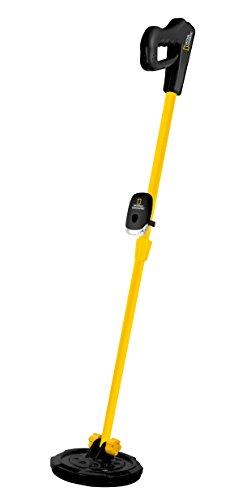 National Geographic Metalldetektor für Kinder mit einer Suchtiefe von bis zu 5 Zentimetern mit LED Beleuchtung