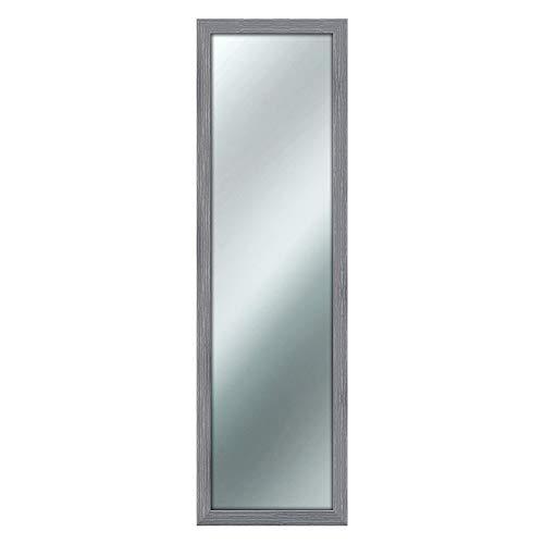 Espejo de pared Mirror Shabby Chic, 40x 125cm, color gris