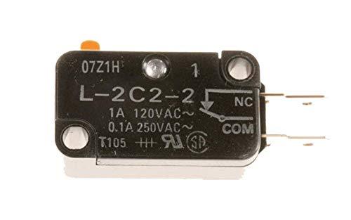 MICRO INTERRUPTEUR DE PORTE L-2C2-2 POUR MICRO ONDES BOSCH - 00614770