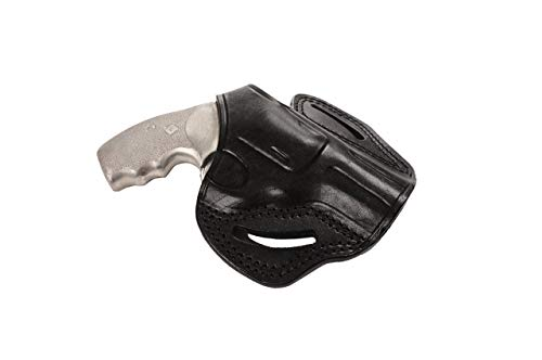 Pusat Holster Revolver 44 Special 2½ inch Leather OWB...