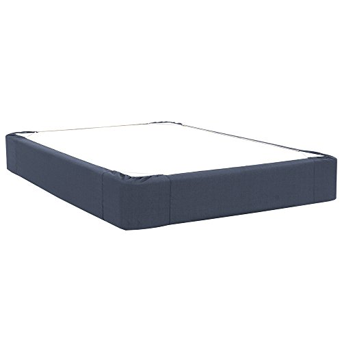 Howard Elliott 241-230 Boxspring Cover Only (Box Spring not Included) Full Size in Sterling Indigo